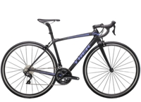 Trek Émonda SL 5 Womens 47 Matte Trek Black/Gloss Ultraviolet - Bike Maniac