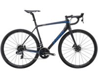 Trek Émonda SL 7 Disc eTap 47 Matte Black/Gloss Blue - Schmiko-Sport Radsporthaus