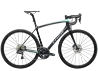 Trek Émonda SLR 7 Disc Womens 50 Matte Trek Black/Miami Green - Zweirad Homann