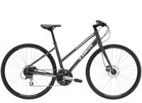 Trek FX 2 Womens Disc Stagger M Solid Charcoal - Bike Maniac