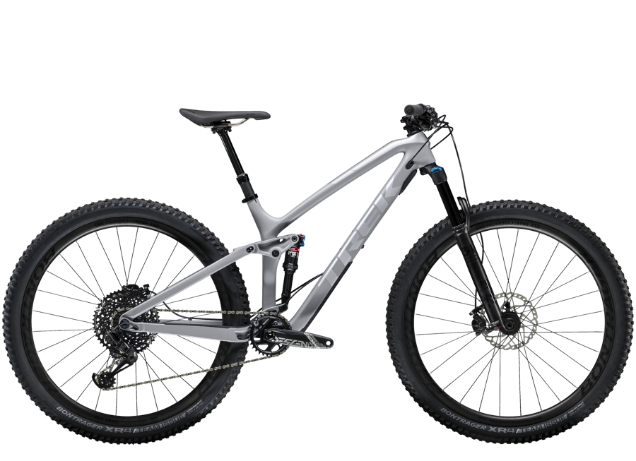 Trek Fuel EX 9.8 29 ML Matte Gravel/Quicksilver - Trek Fuel EX 9.8 29 ML Matte Gravel/Quicksilver