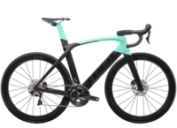 Trek Madone SLR 6 Disc Womens 50 Matte Black/Gloss Miami Green - Bike Maniac