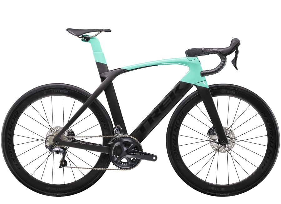 Trek Madone SLR 6 Disc Womens 56 Matte Black/Gloss Miami Green - Trek Madone SLR 6 Disc Womens 56 Matte Black/Gloss Miami Green