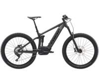 Trek Powerfly FS 7 Plus 15.5 Matte Dnister Black - Bike Maniac