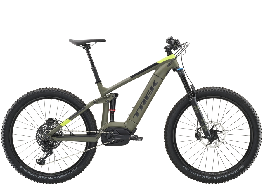 Trek Powerfly LT 9 Plus XL Matte Olive Grey - Trek Powerfly LT 9 Plus XL Matte Olive Grey