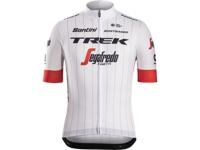 Jersey Santini Trek-Segafredo Replica X-Large White - Bike Maniac