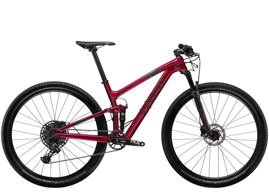 Trek Top Fuel 9.7 15.5 (27.5 wheel) Rage Red - Trek Top Fuel 9.7 15.5 (27.5 wheel) Rage Red