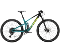 Trek Top Fuel 9.7 L Trek Black to Teal Fade - Schmiko-Sport Radsporthaus