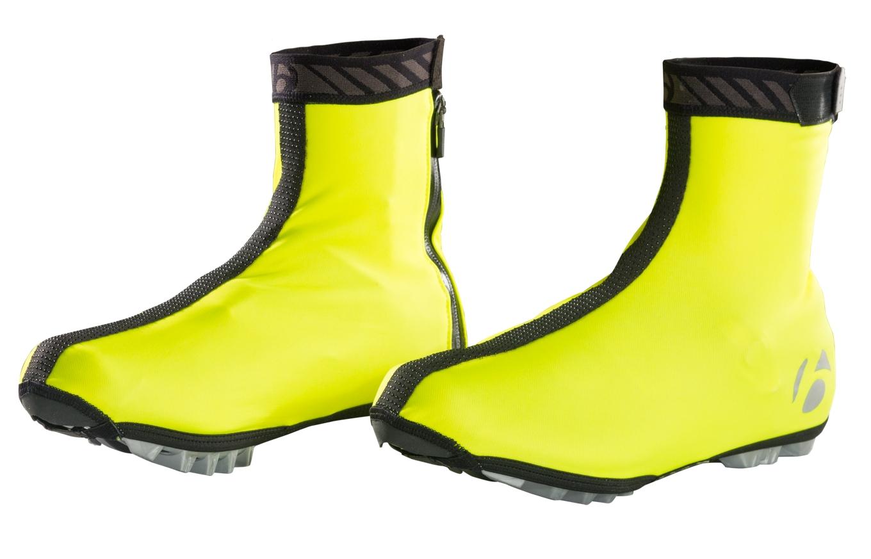 Bontrager Halo S1 Softshell Shoe Cover Unisex Visibility Yellow S