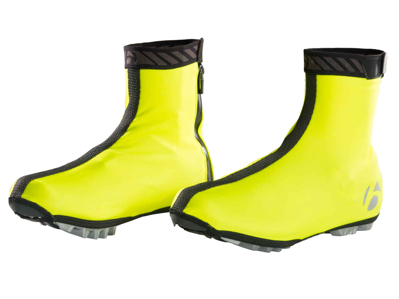 Bontrager Halo S1 Softshell Shoe Cover Unisex Visibility Yellow S nstqtE