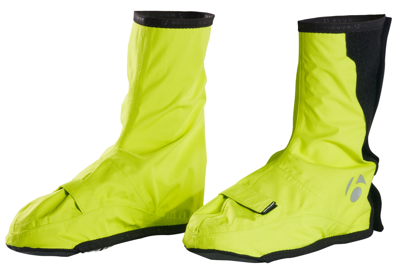 Bontrager Halo S1 Softshell Shoe Cover Unisex Visibility Yellow S