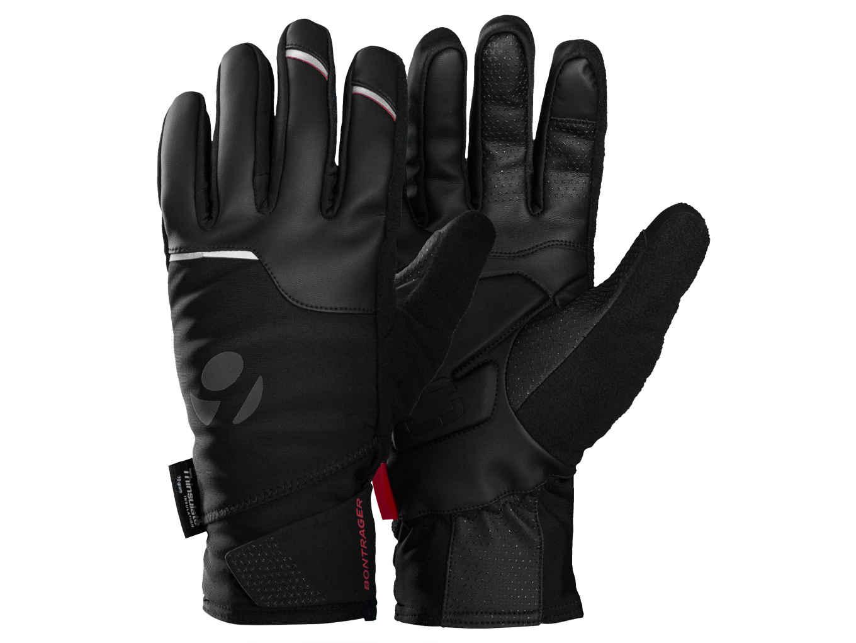 Black gloves races - Bontrager Velocis S1 Softshell Glove