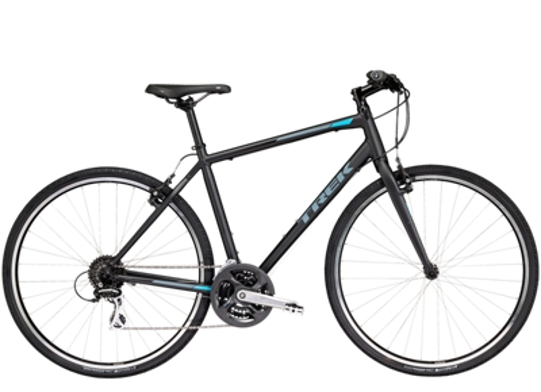 "fx 2 trek bikes Panasonic 27"" TV accessories shown here are sold separately"
