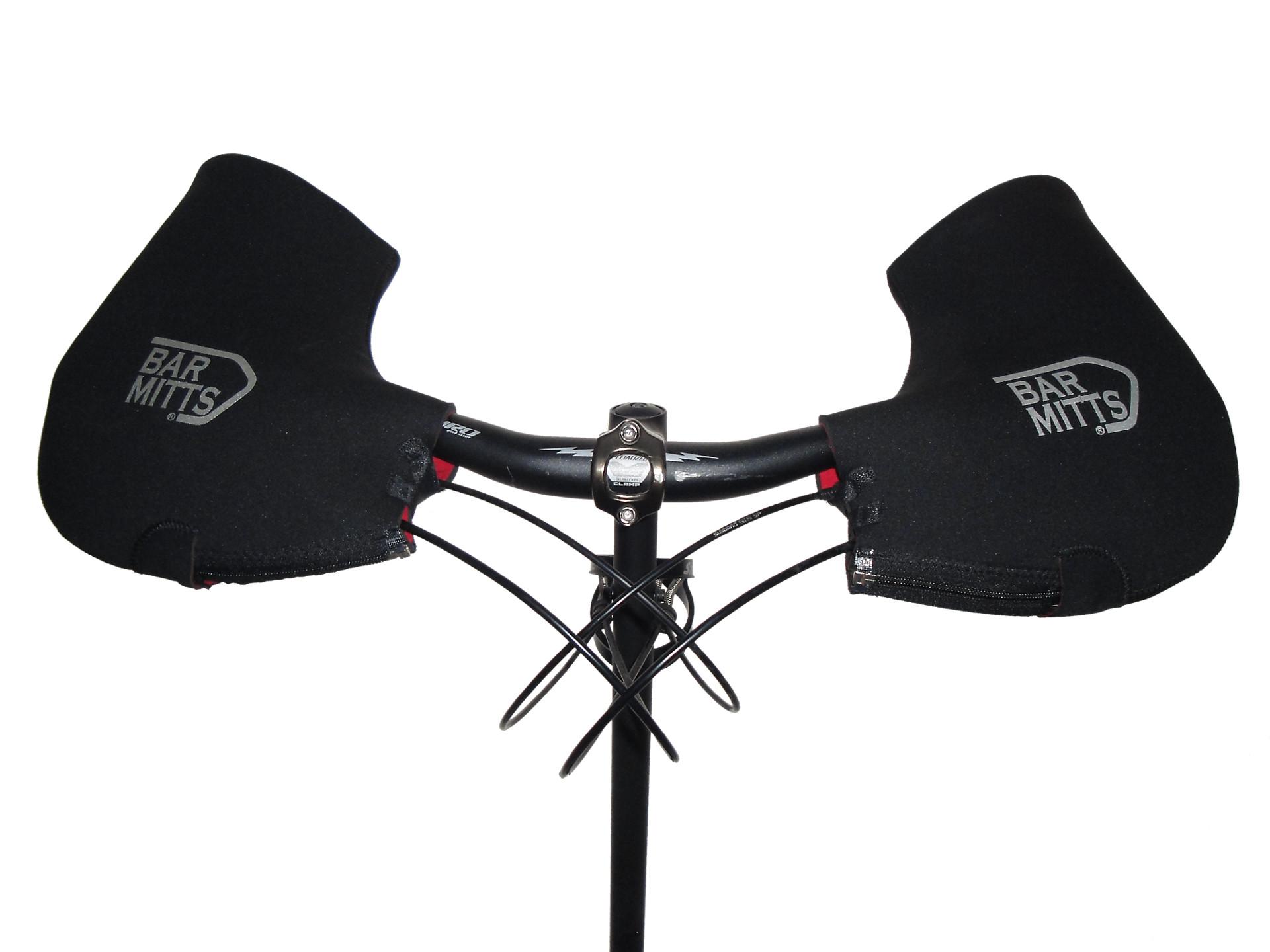 Extra Large Bar Mitts MTB Hybrid Fat Bike Winter Mitten Handlebar Covers XL