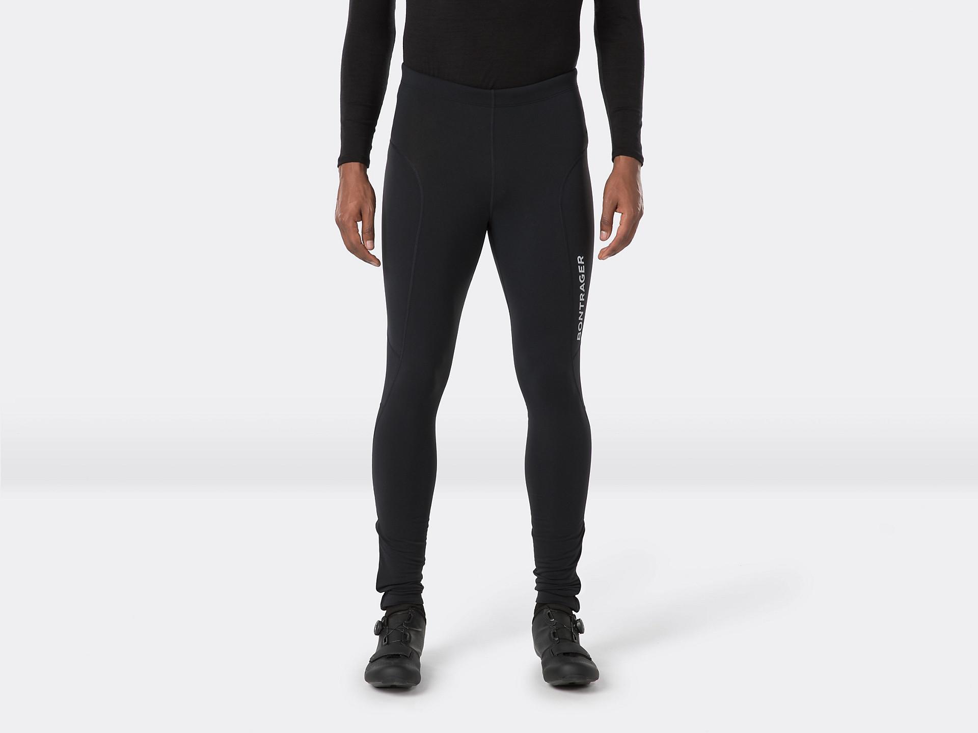 Black New 2015 Men/'s Bontrager Trek Factory Racing Cycling Leg Warmers Size S