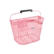 Light Pink Linear QR Mesh Basket