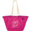 Brunch Canvas Basket Tote