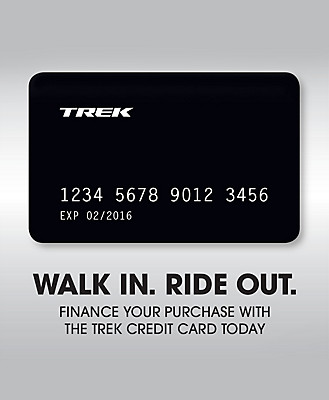 Trek Credit Card Walk In Ride Out