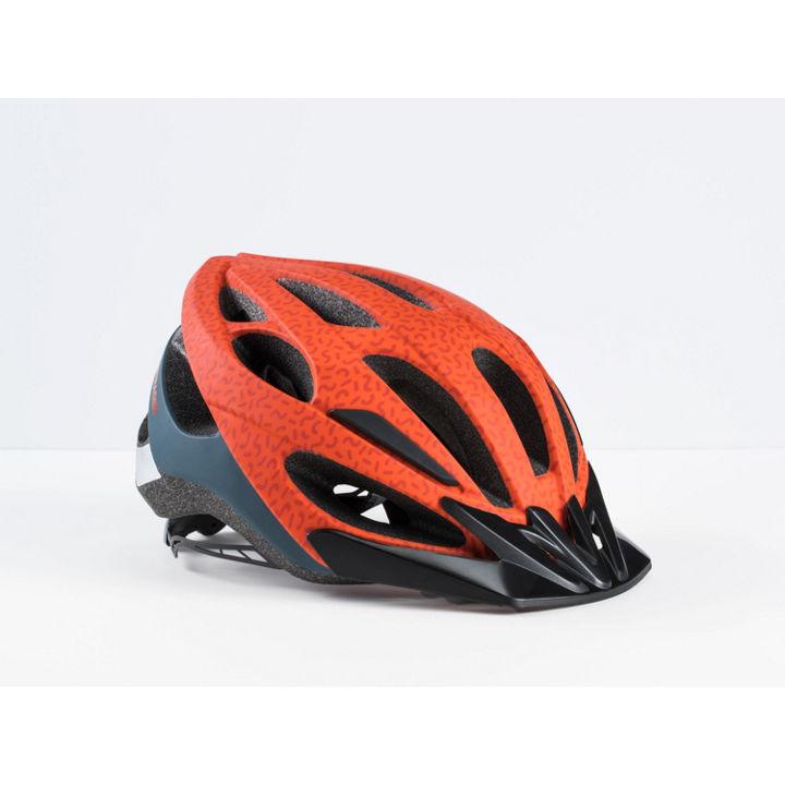 Helmet Bontrager Solstice Asia Fit Small/Medium Rorange/Blue - 547266