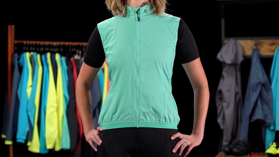 Circuit Women's Windshell Vest Product Overview
