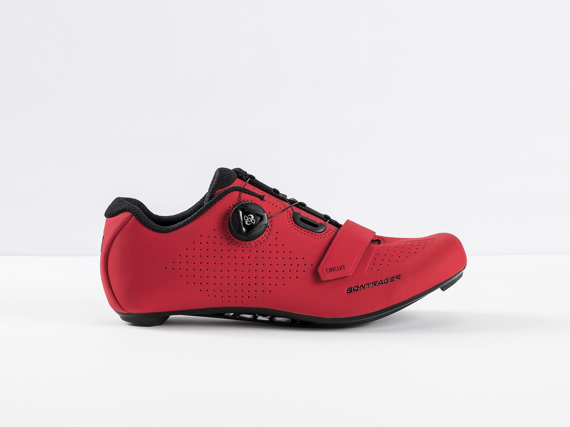 Bontrager Circuit Road Shoe red