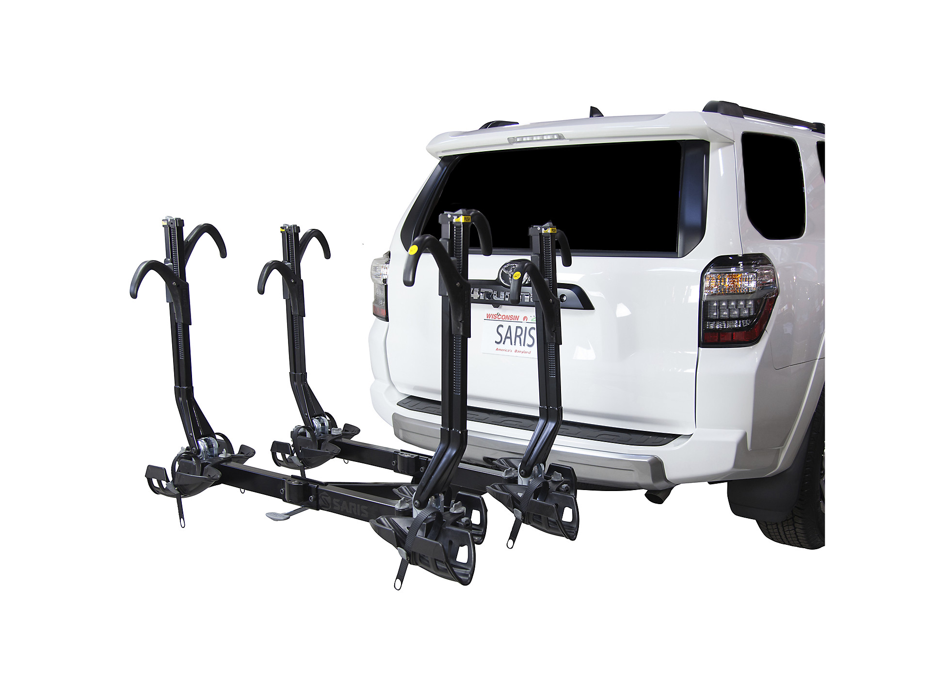 Saris Superclamp Ex 4 Bike Hitch Rack