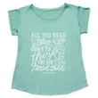 Electra All You Need Boyfriend Ladies' T-Shirt