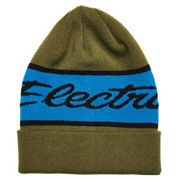 Electra Olive Beanie SALE was $27.99