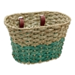 Electra Natural Seafoam Palm Frond Basket