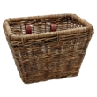 Brown Rattan Rectangular Basket