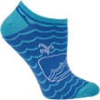 Electra Whale No Cuff Socks