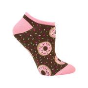Electra Donut No Cuff Socks