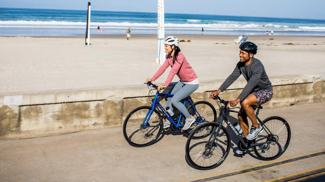 Idealne dla rowerzystów preferujących pozycję fitness