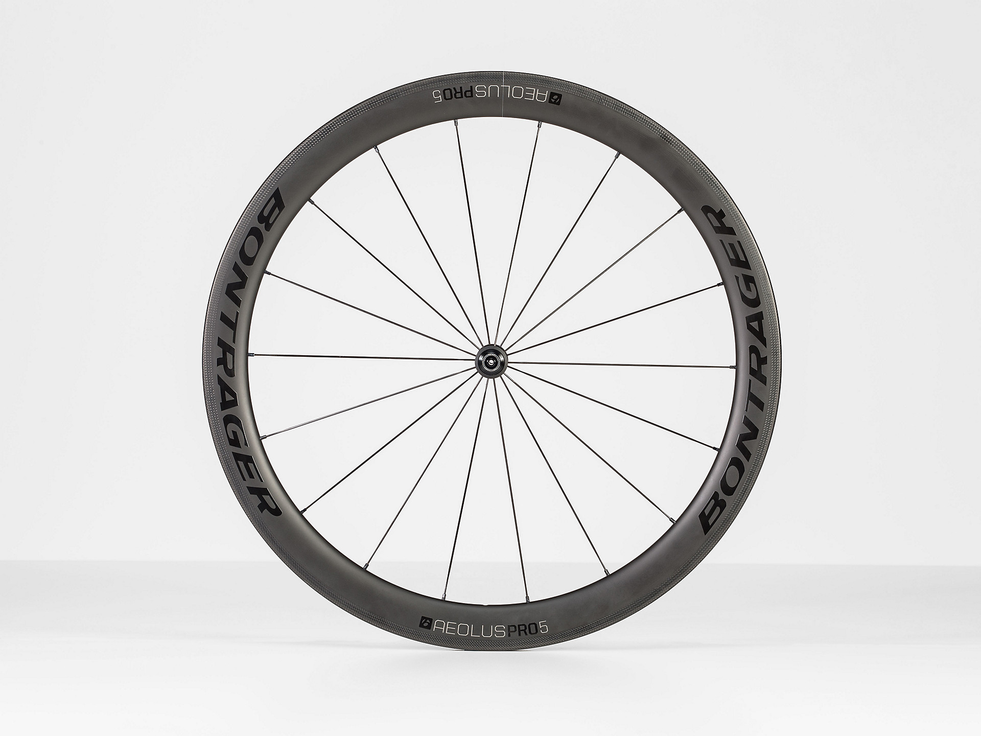 Best Carbon Road Bike What Makes Good Quality Carbon And Five >> Bontrager Aeolus Pro 5 Tlr Road Wheel Trek Bikes