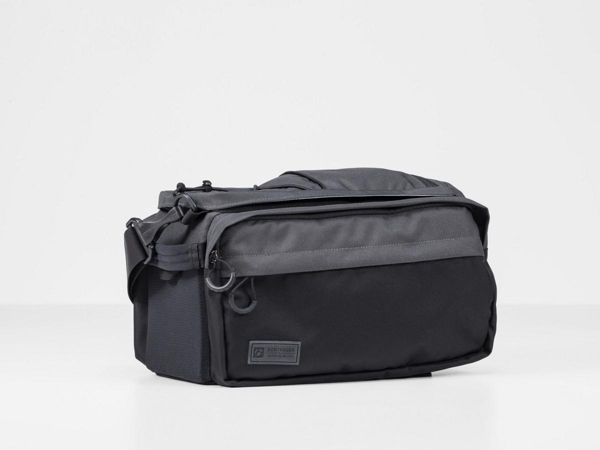 bontrager bike bag interchange rack top bag quick fit design