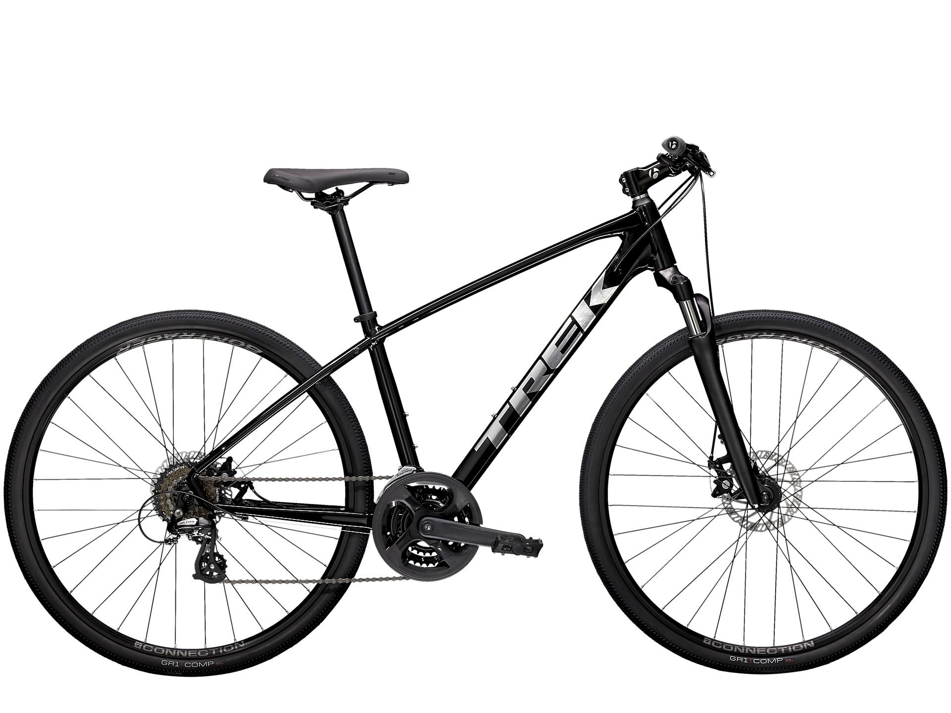 new black hybrid bike