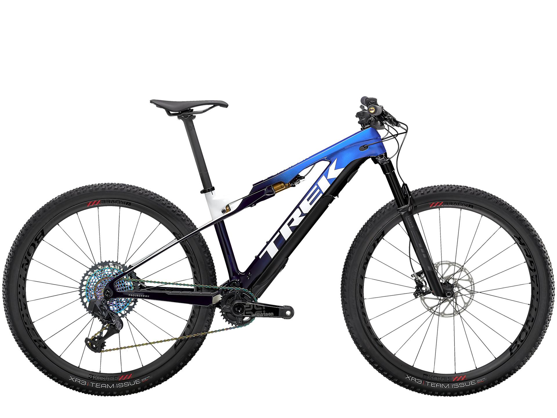 Trek e-caliber - lightest e bike for mtb rides