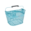 Electra Linear QR Mesh Basket in Metallic Light Blue