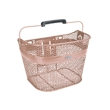 Electra Linear QR Mesh Basket in Rose Gold