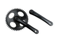 Crank Electra Townie w/Out Guide 170mm Black