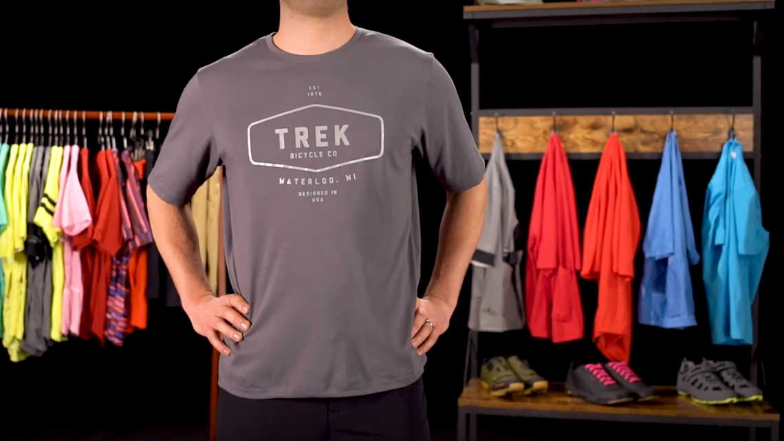 Evoke Mountain Tech Tee Product Overview