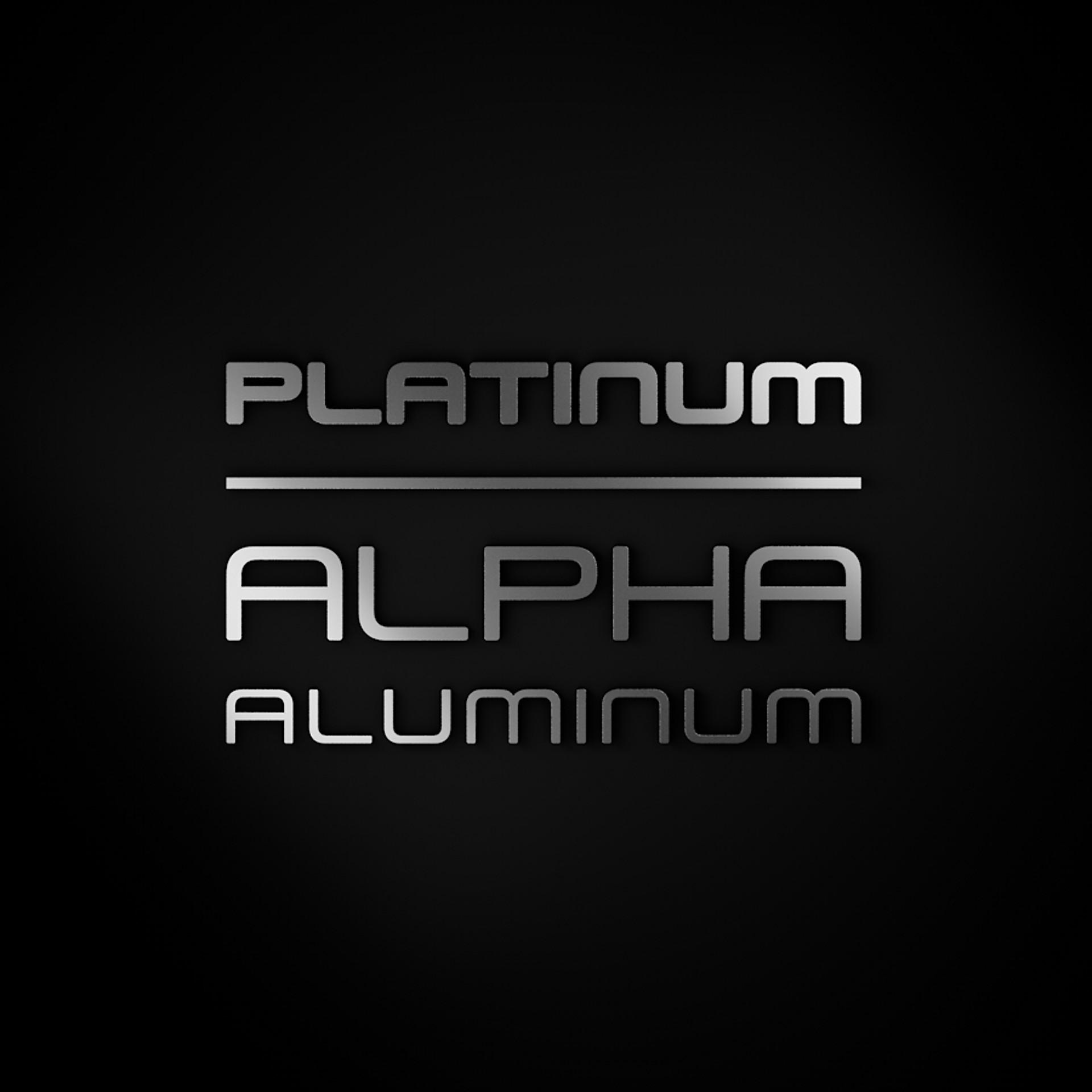 Aluminium Alpha Platinum