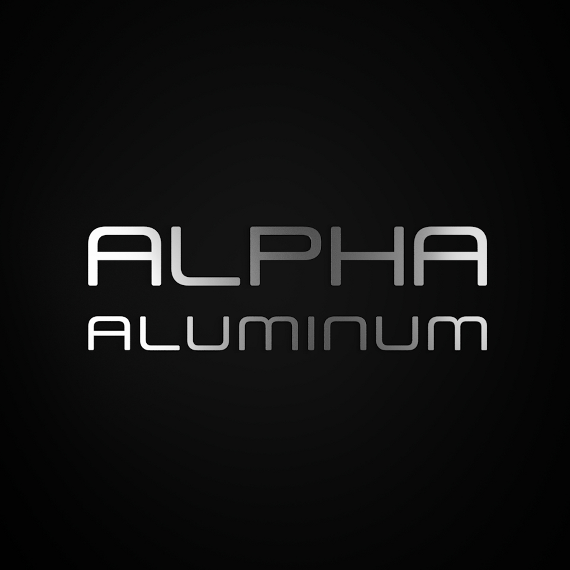 Alpha Aluminium frame