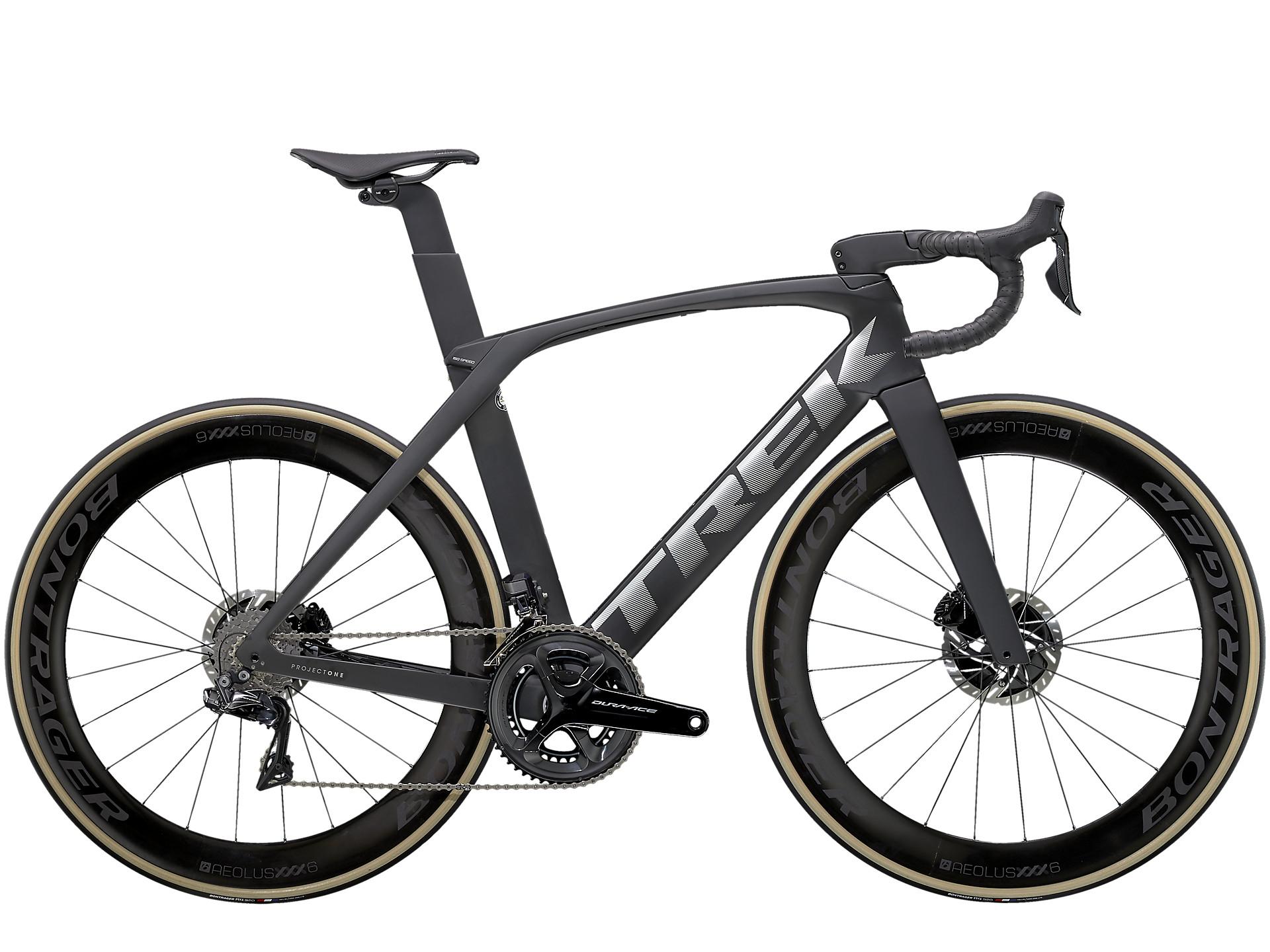 Trek Madone 2021 SLR9 road bike in black