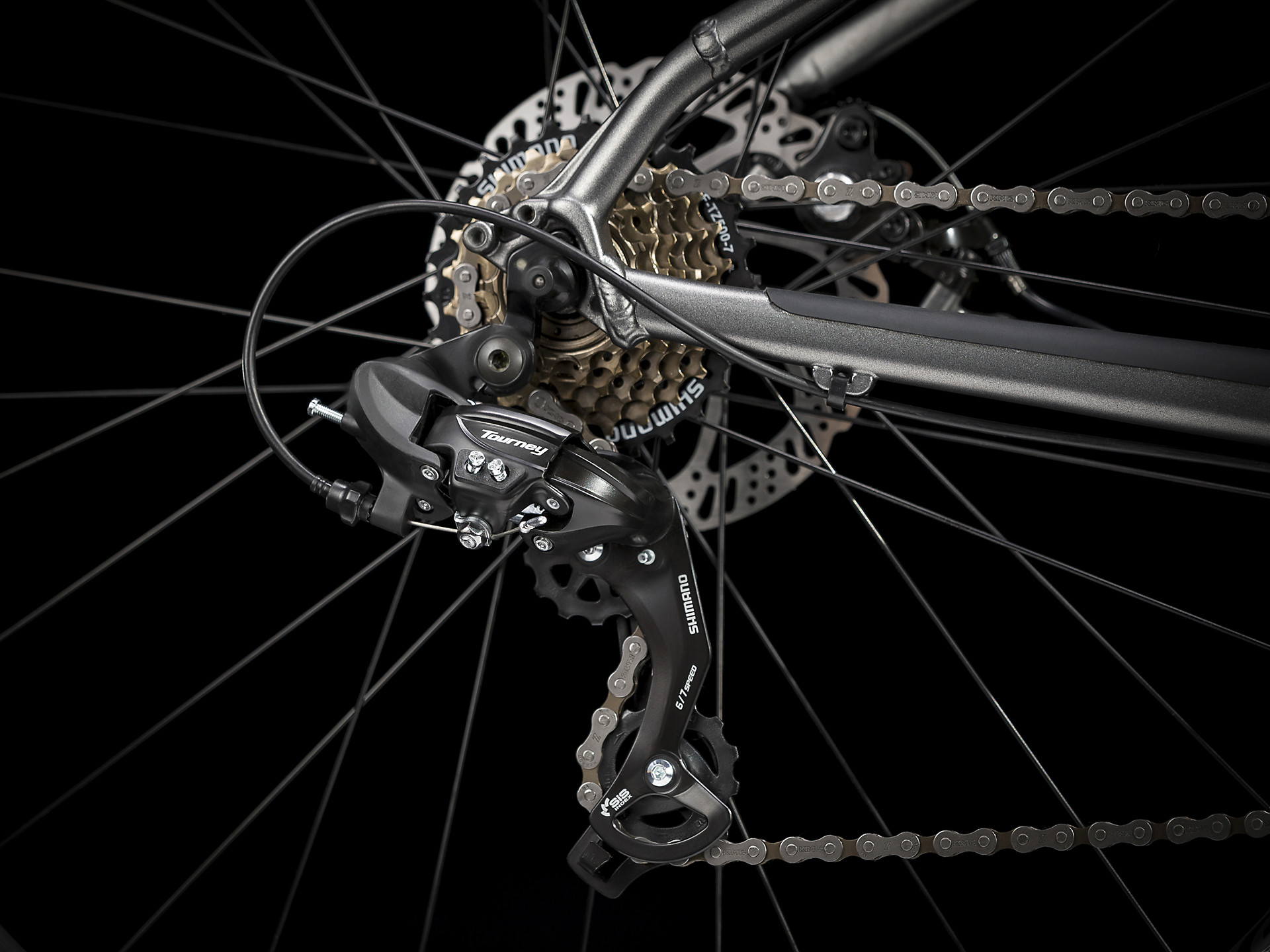 Shimano Tourney entry-level rear derailleur