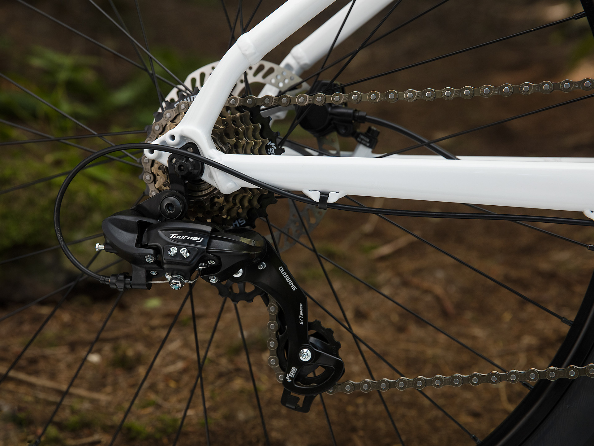 Rear derailleur on Trek Marlin 5