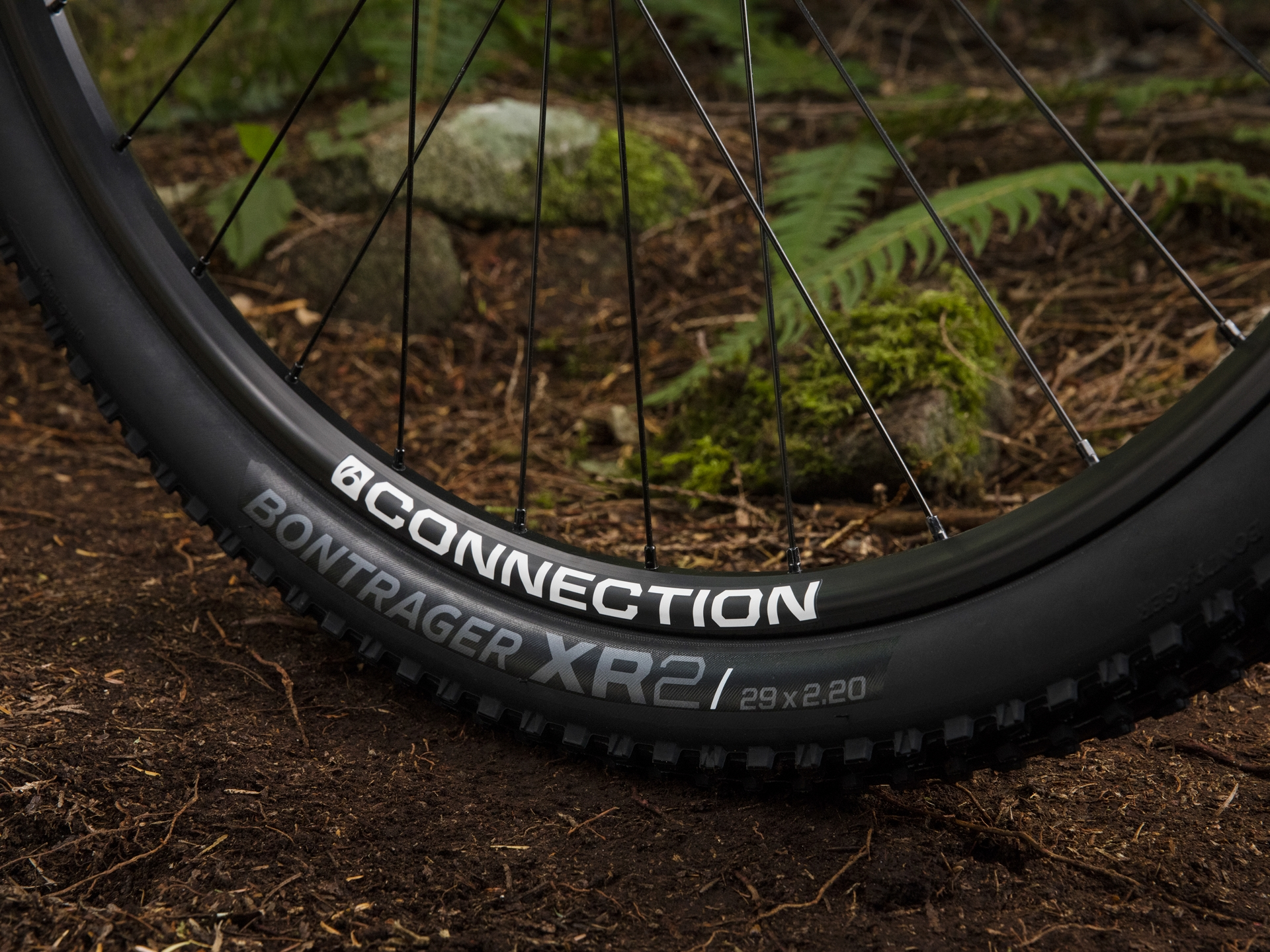 Trek Marlin 5 Bontrager wheels and tires