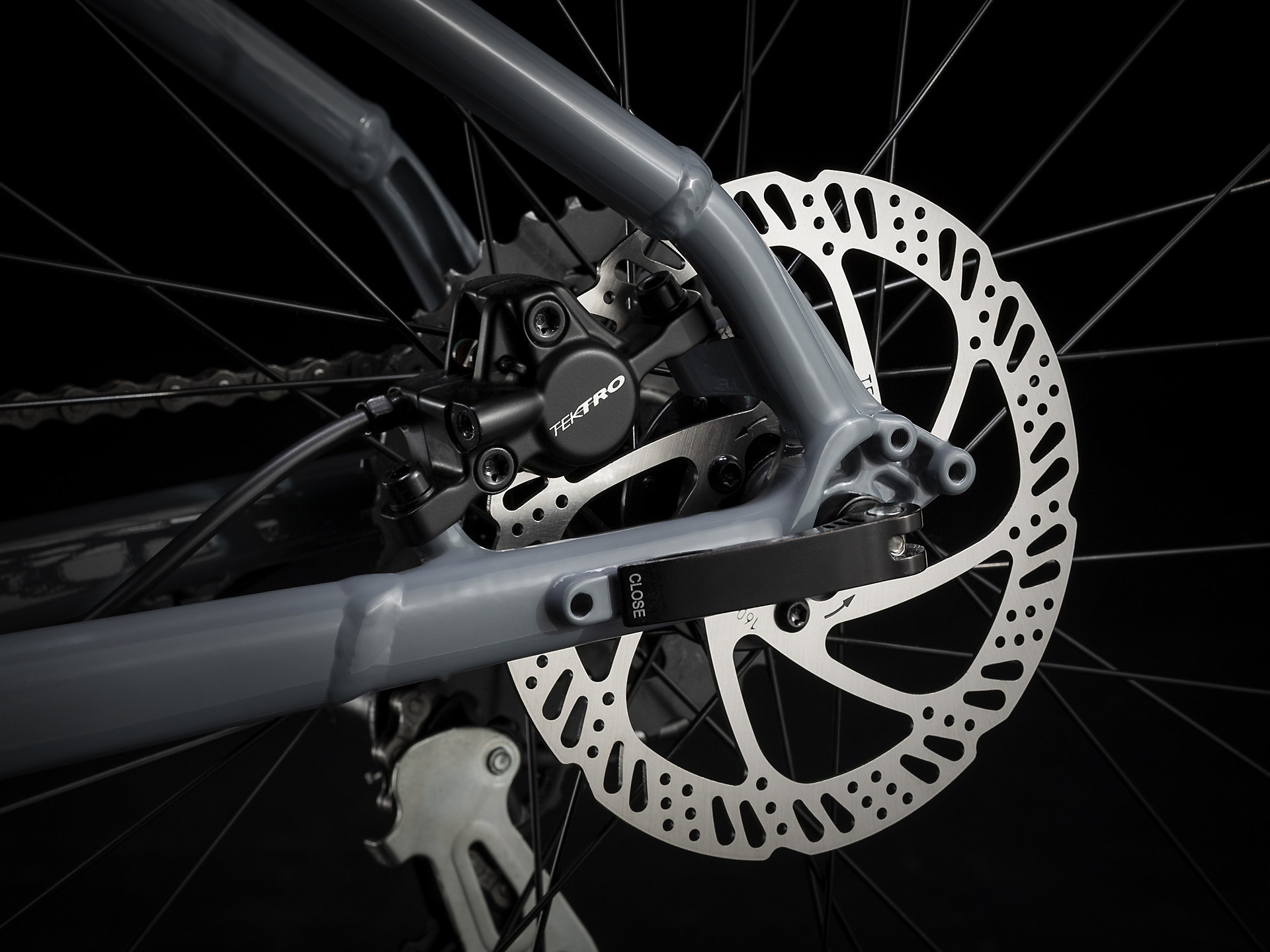 Trek Marlin disc brakes