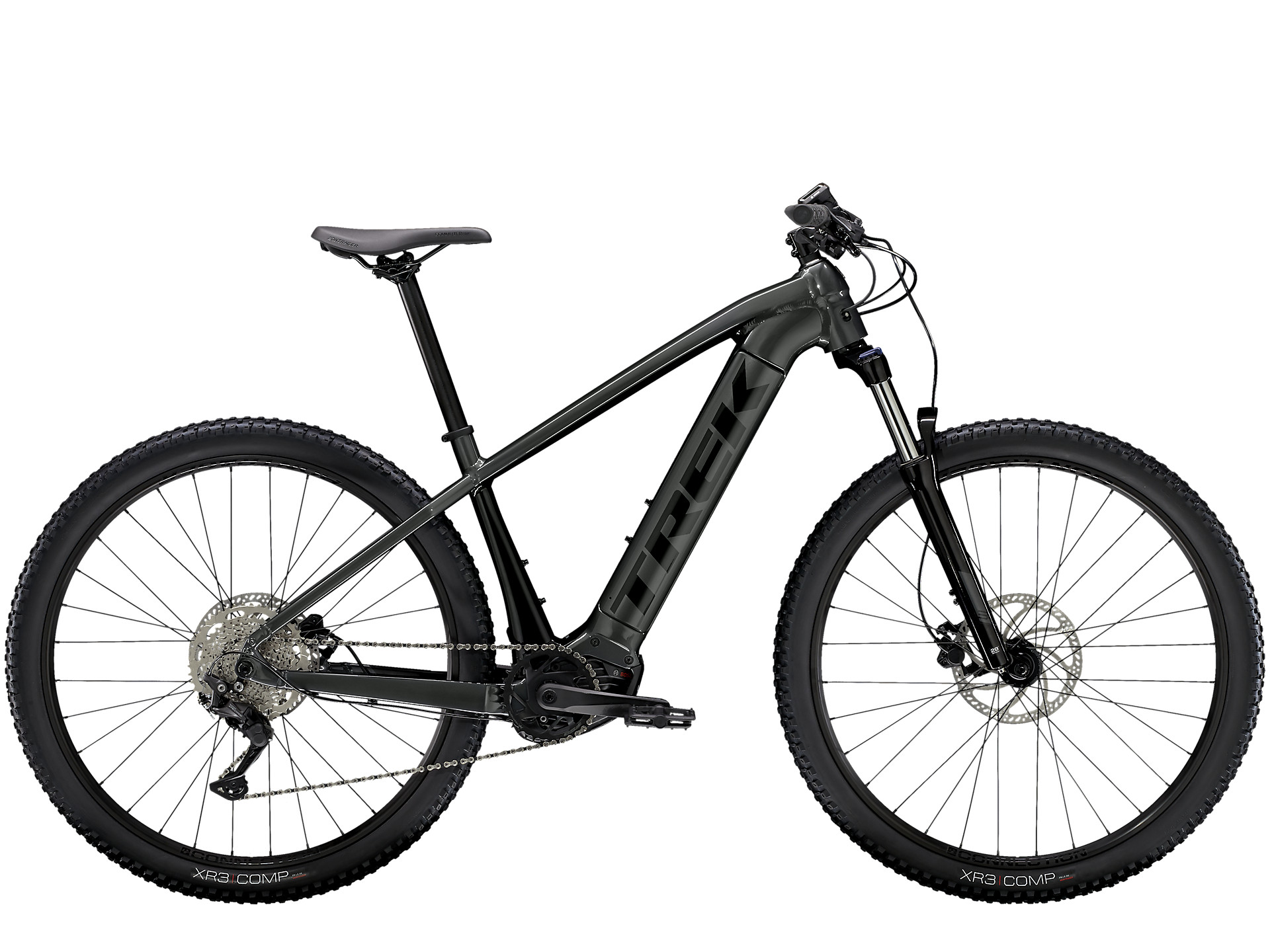black trek powerfly electric mountain bike