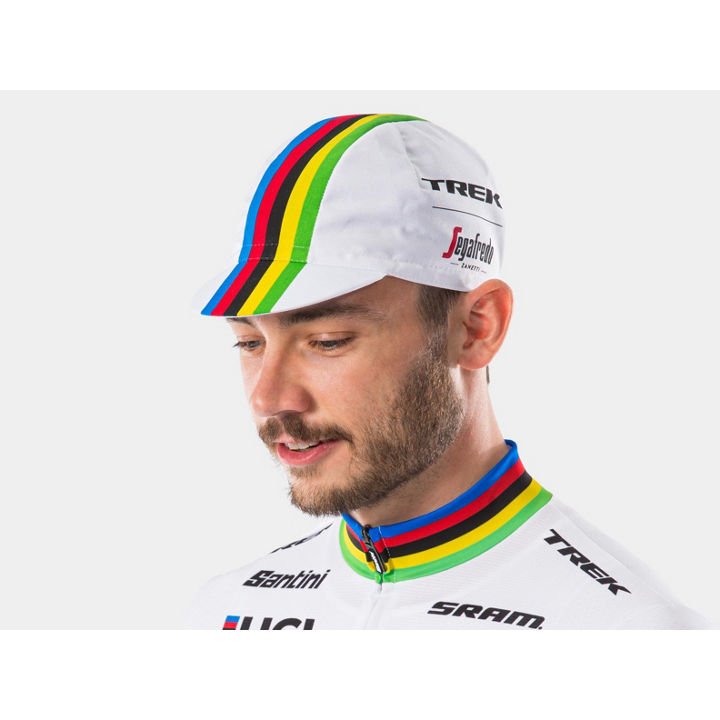 ヘッドウェア Santini Trek-Segafredo World Champ Cap One Size - 1044720